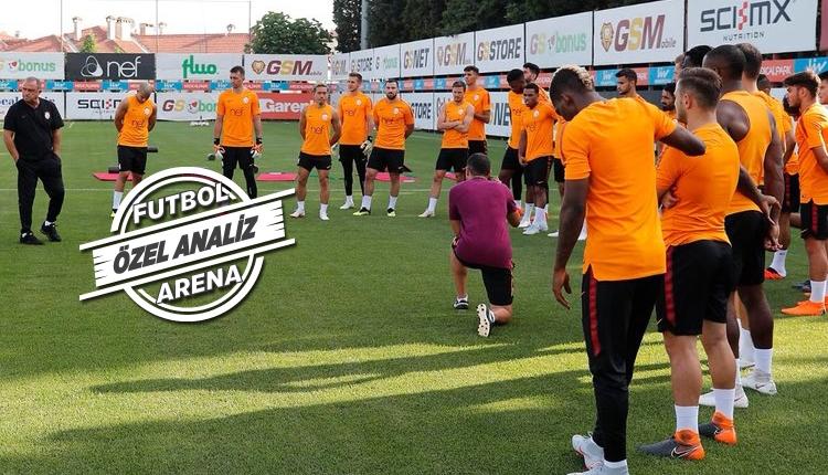 Galatasaray'da kamp dönemi nasıl geçti?