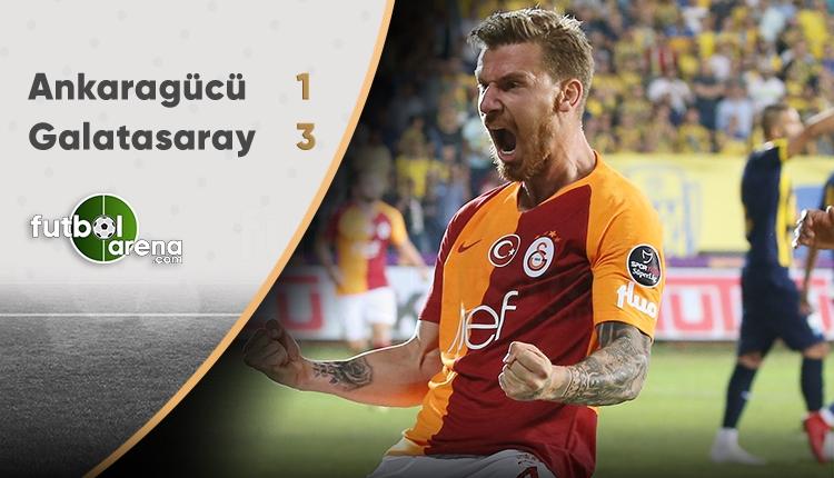Ankaragücü 1-3 Galatasaray maçın özeti ve golleri haberimizde.