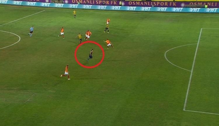 Galatasaray'dan Ankaragücü'nün golüne ofsayt itirazı
