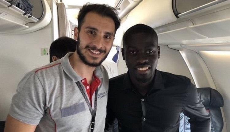 Galatasaray'ın transferi Ndiaye, İstanbul'a geldi