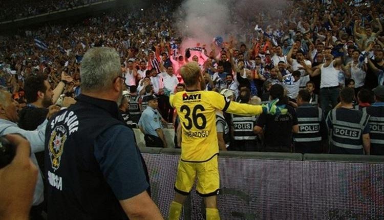 Hakan Canbazoğlu'nun Konyaspor maçında kurtardığı penaltı