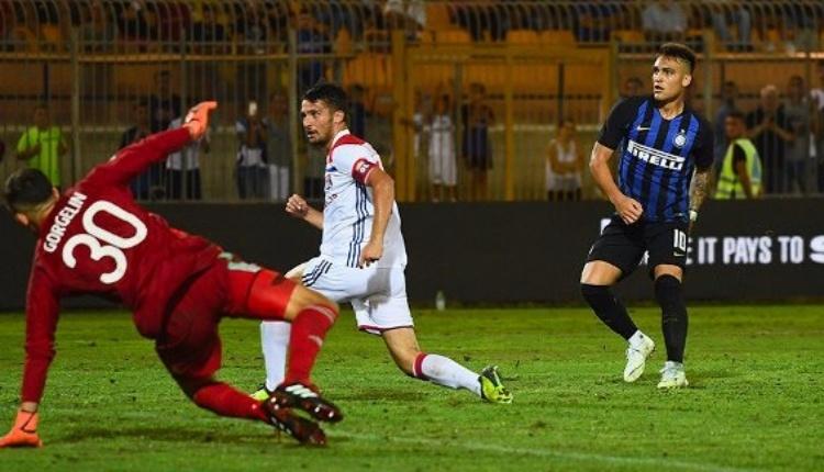 İnter 1-0 Lyon Uluslararası Şampiyonlar Kupası maç özeti (İZLE)