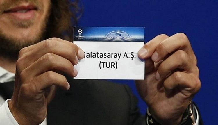 İşte Galatasaray'ın Şampiyonlar Ligi'nde rakipleri