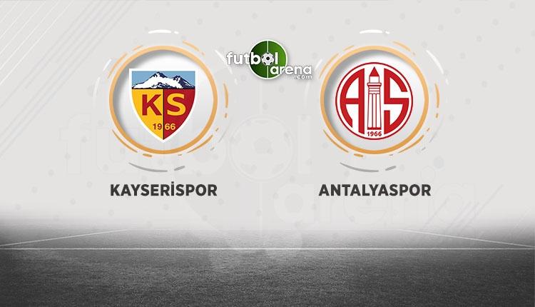 Kayserispor, Antalyaspor'a bileniyor