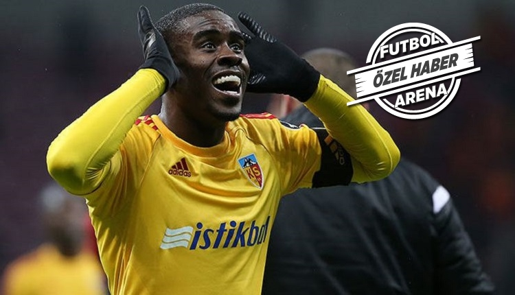 Kayserispor eski futbolcusu Mabiala'ya haber gönderdi