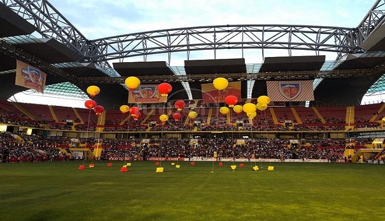 Kayserispor'un sezon açılışından renkli görüntüler