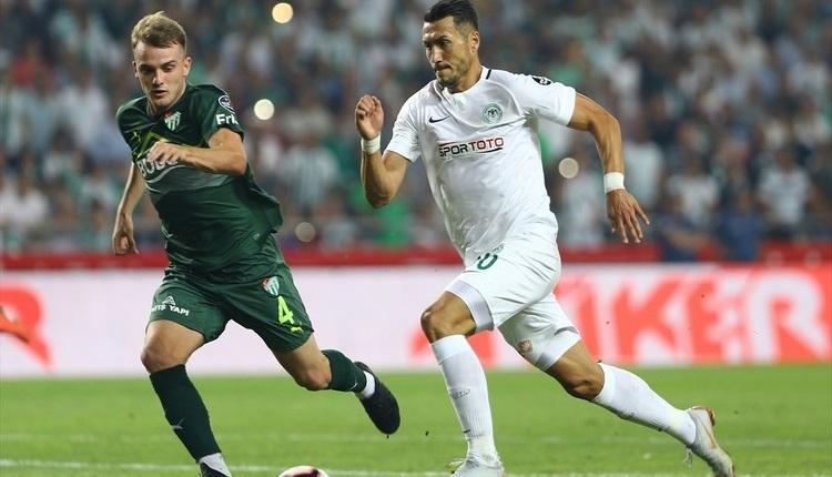 Konyaspor 1-1 Bursaspor maç özeti ve golleri beIN Sports İZLE