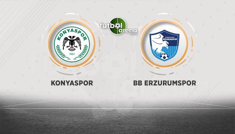 Konyaspor - Erzurumspor maçı canlı şifresiz izle (Konya Erzurum beIN Sports canlı)