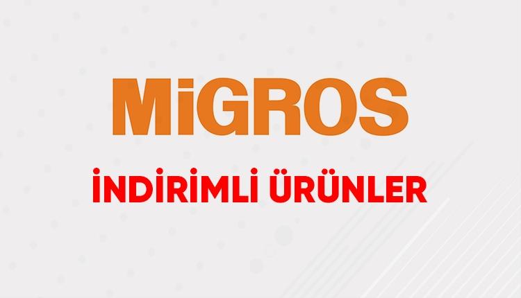 Migros kampanyalı ürünler 23 Ağustos (Migroskop indirim ürünleri)