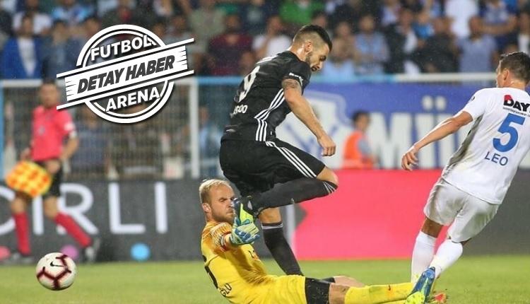 Negredo Beşiktaş'ta 12'den vuruyor