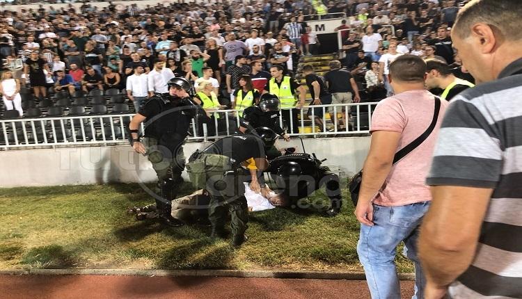 BJK Haber: Partizan taraftarı Beşiktaş'ın golü sonrası kalp krizi geçirdi ve öldü