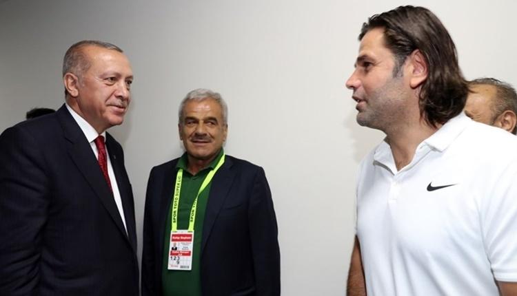 Recep Tayyip Erdoğan'dan İbrahim Üzülmez'e: