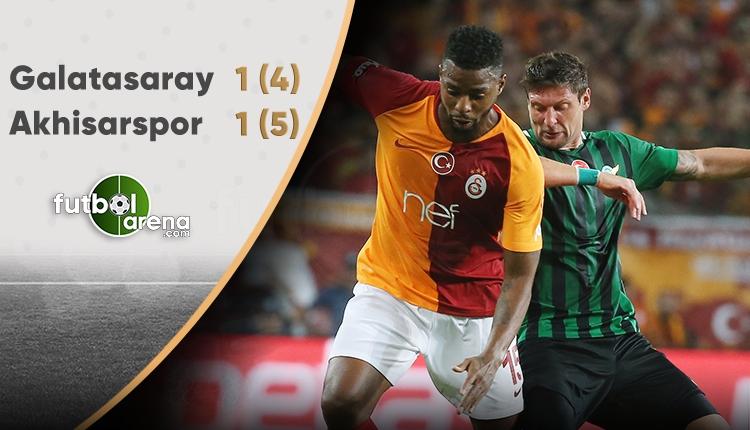 Akhisarspor Galatasaray'ı yenerek Süper Kupa'nın sahibi oldu