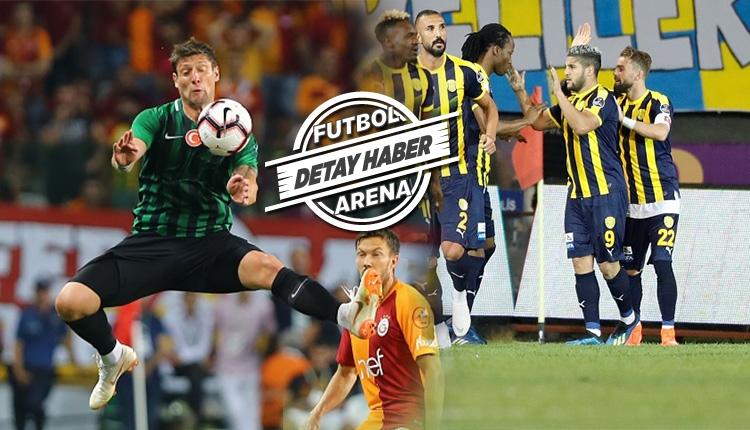 Süper Lig'de yeni transferleri ilk haftada kaç gol attı?