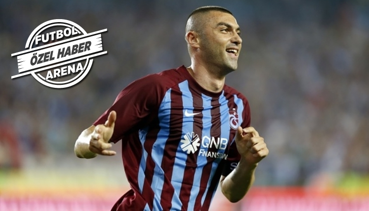 Trabzonspor'dan FutbolArena'ya özel açıklama! Burak Yılmaz Galatasaray'a gidecek mi?