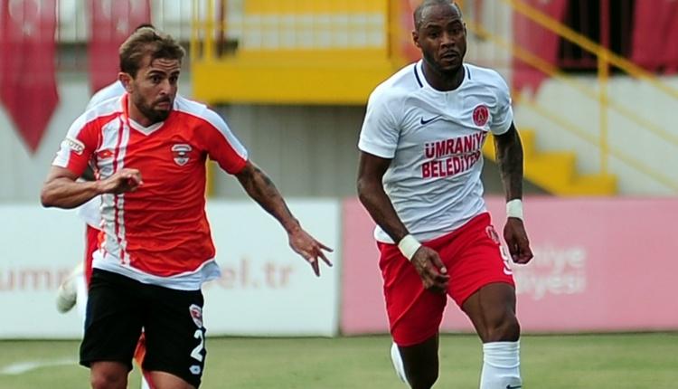 Ümraniyespor 2-1 Adanaspor maç özeti ve golleri (İZLE)