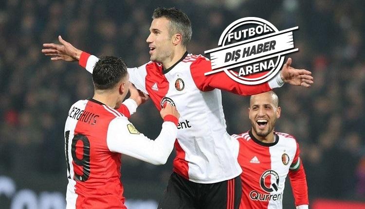 Van Persie Feyenoord - Excelsior maçında coştu