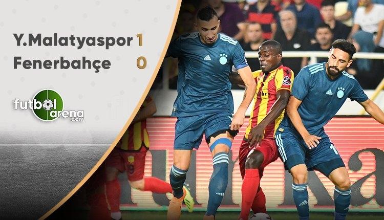 Yeni Malatyaspor 1-0 Fenerbahçe (MAÇ SONUCU)