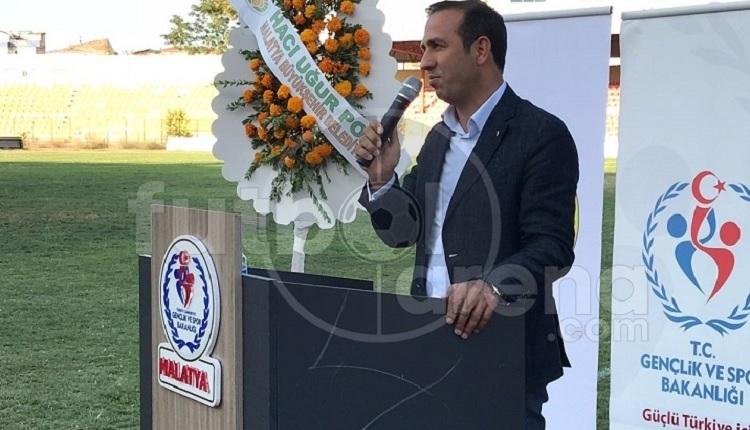 Yeni Malatyaspor Başkanı Adil Gevrek'ten Malatya İnönü Stadı'na veda sözleri