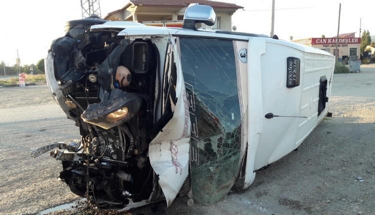 Yeni Malatyasporlu taraftarlar kaza geçirdi