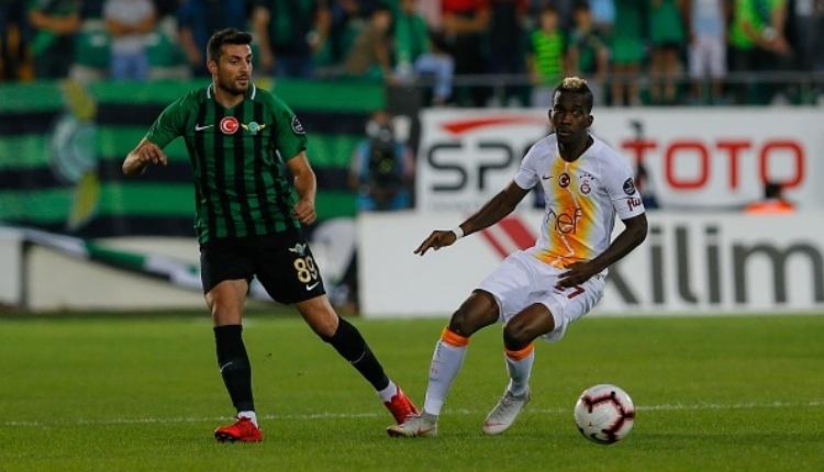 Akhisarspor, Galatasaray maçında ilkleri yaşadı