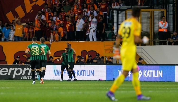Galatasaray'ın Akhisar maçında penaltı tepkisi