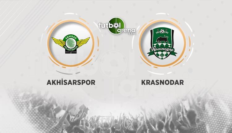 Akhisarspor - Krasnodar maçı saat kaçta, hangi kanalda? Muhtemel 11'ler