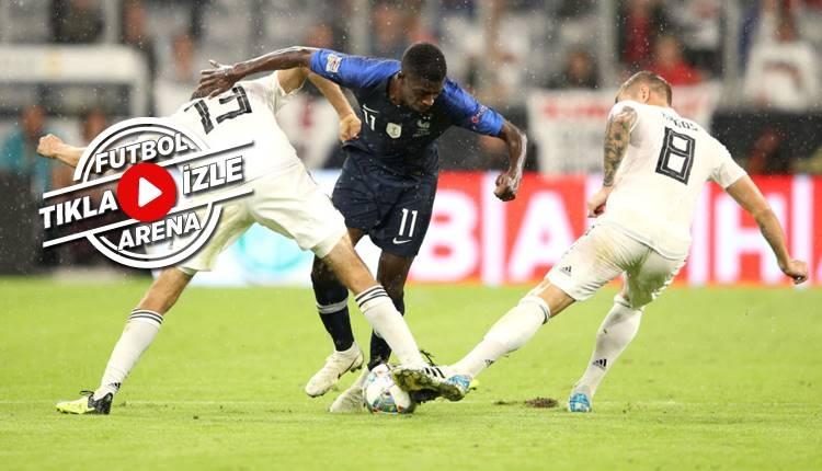 Almanya 0-0 Fransa maçı özeti (İZLE)