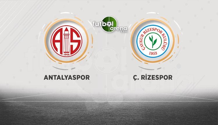 Antalyaspor - Rizespor beIN Sports canlı şifresiz izle