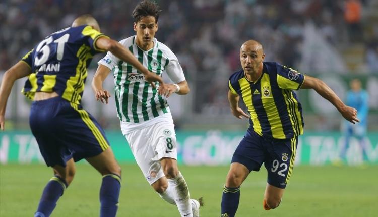 Atiker Konyaspor 0-1 Fenerbahçe maç özeti ve golü (İZLE)
