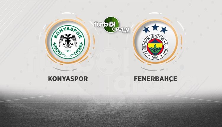 Atiker KonyasporFenerbahçebeIN Sports canlı şifresiz izle (Konyaspor FB CANLI)