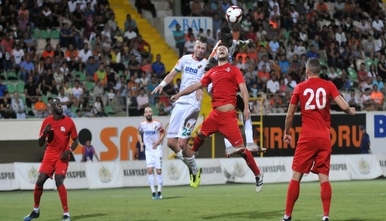 Aytemiz Alanyaspor 1-1 Antalyaspor maç özeti ve golleri (İZLE)