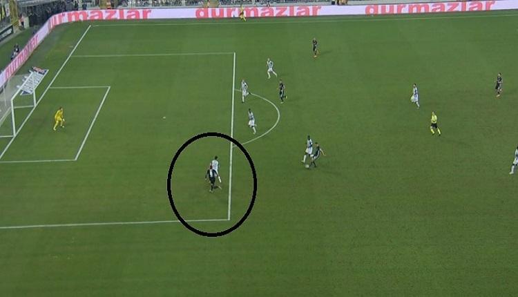 Babel'in Bursaspor'a golünde ofsayt tartışması! VAR sistemi...