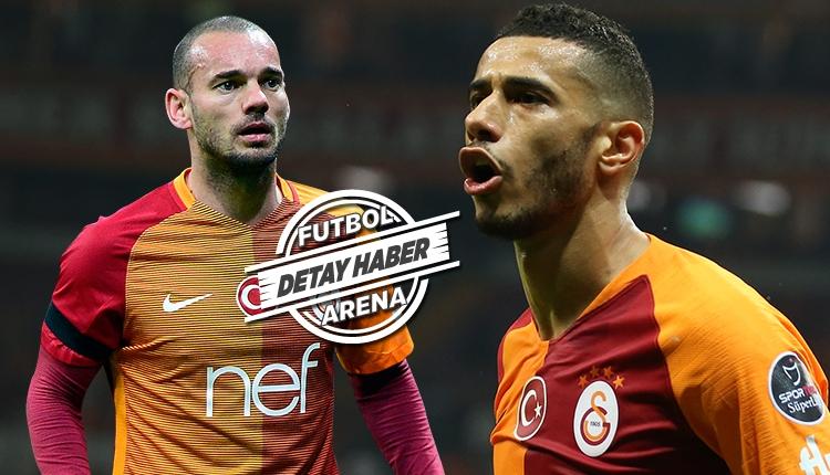Belhanda, Sneijder'i mumla arattı