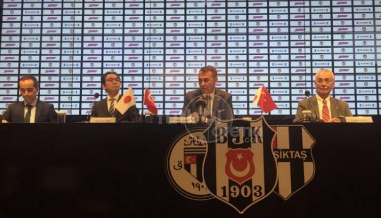 BJK Haber: Beşiktaş, Japon Mainchi Sponichi firmasıyla sponsorluk anlaşması imzaladı