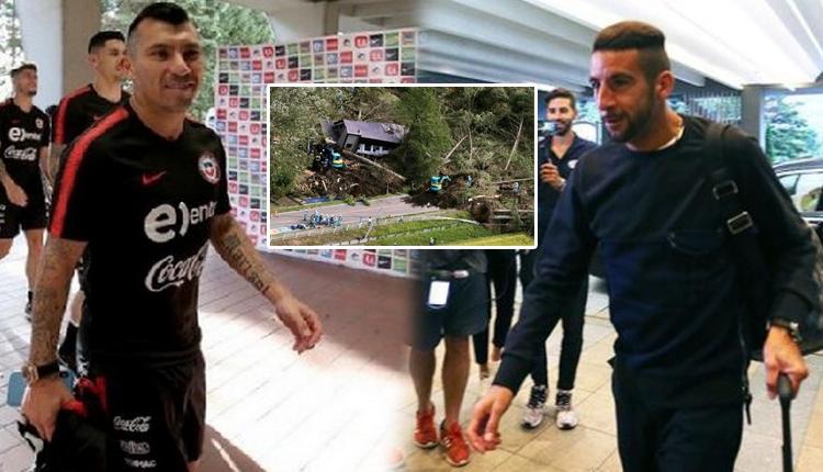 Beşiktaşlı Medel ve Roco ile Fenerbahçeli Isla'ya deprem şoku