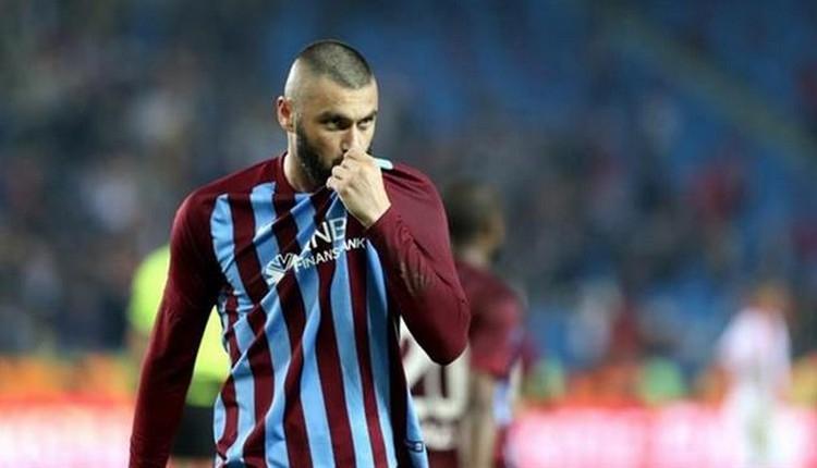 Burak Yılmaz'dan Trabzonspor'a yanıt: 'Hayretle dinliyorum'