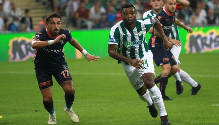 Bursaspor 0 - 0 Medipol Başakşehir maçın özeti