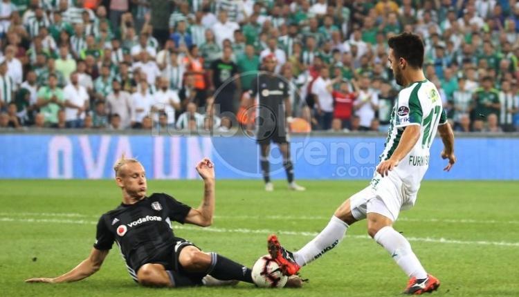 Bursaspor 1-1 Beşiktaş maç özeti ve golleri (İZLE)