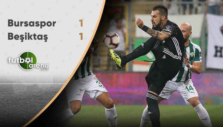 Beşiktaş Bursa'da takıldı