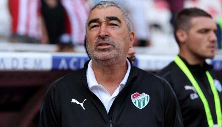 Bursaspor'da Samet Aybaba'dan gözdağı;