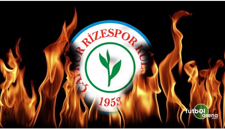 Çaykur Rizespor'dan teknik direktör açıklaması
