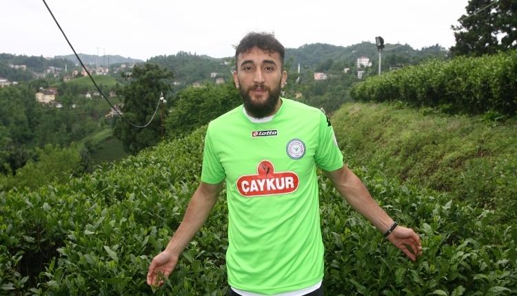 Çaykur Rizespor'un kaptanı Orhan Ovacıklı: