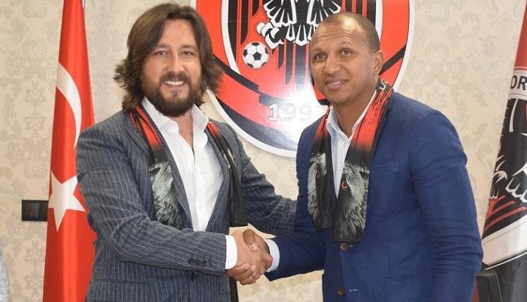 Çorum Belediyespor'un yeni teknik direktörü Mehmet Aurelio