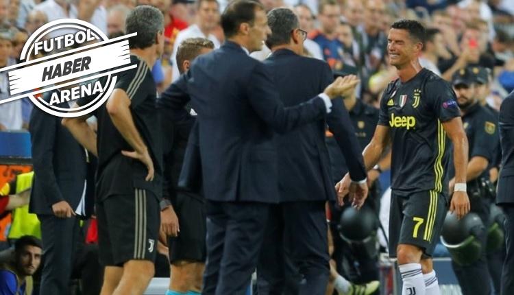 Cristiano Ronaldo'nun kırmızı kart gördüğü ve ağladığı anlar