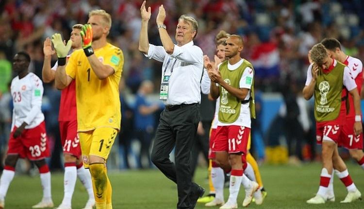 Danimarka'da futbolcular milli takımı terk etti
