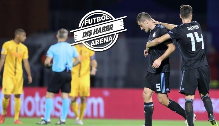Dinamo Zagreb'e Fenerbahçe maçı öncesi 3 sakat futbolcudan haber