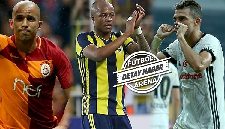 Dört büyükler milli takımlara kaç futbolcu gönderdi?