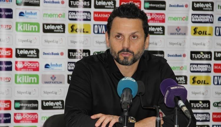 Erol Bulut'tan Beşiktaş maçı açıklaması: ''İstediğimiz gibi olmadı...''