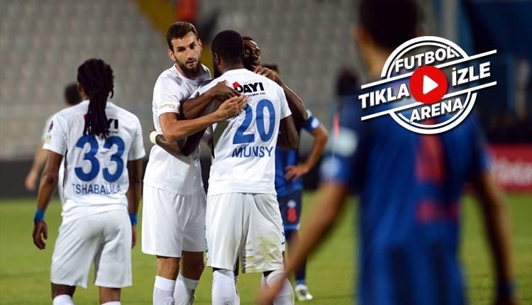 Erzurumspor 1-0 Ankara Demirspor maçı özeti ve golü (İZLE)